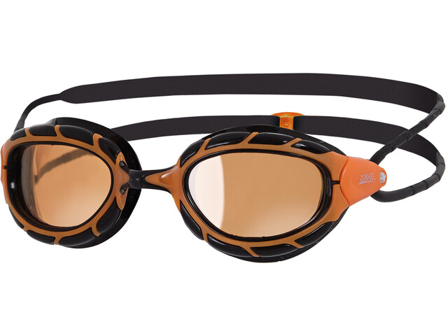 Zoggs Predator Polarized Ultra Okulary pływackie, orange/black/copper